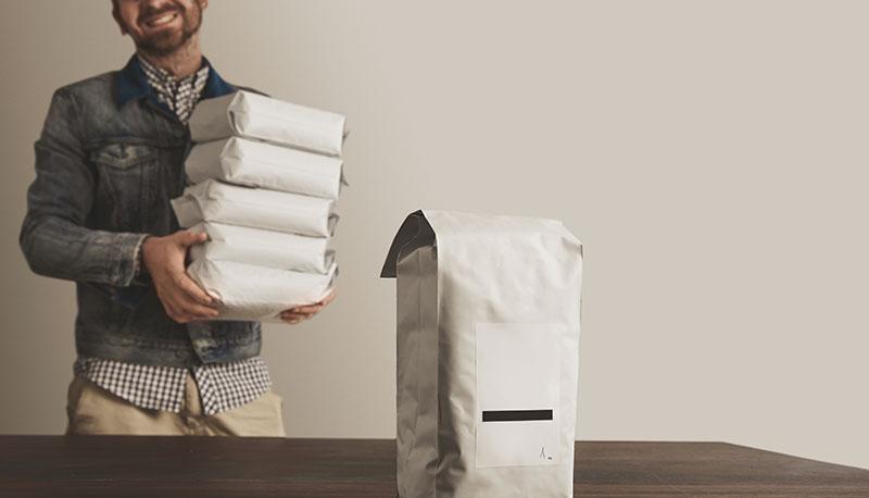 Emballage för mindre företag